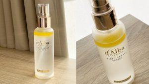 乾燥肌におすすめ!ダルバ(d'Alba)のミスト化粧水「ホワイトトリュフ ファースト スプレー セラム」をレビュー